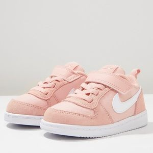Nike court borough low PE Toddler trainer sneakers